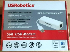 Hayes compatible USB modem