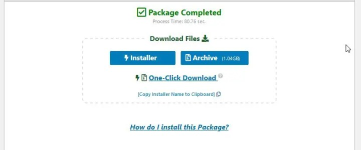 How to backup a WordPress site