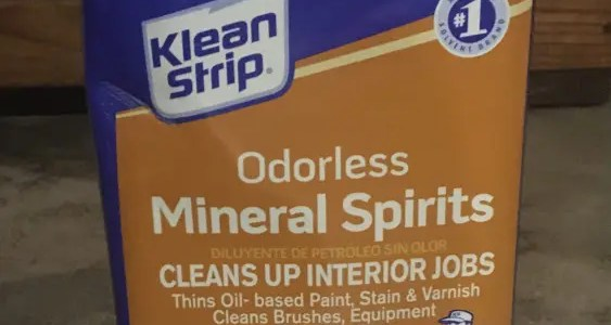 What are mineral spirits?