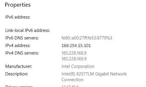 What is a 169 IP address?