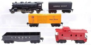 Lionel Scout train set