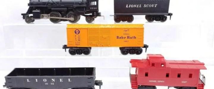 Lionel Scout train sets: Entry level Lionel