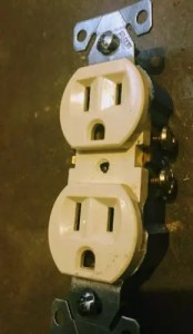 which side of an outlet is hot