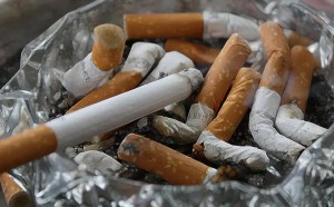 remove cigarette smell from books