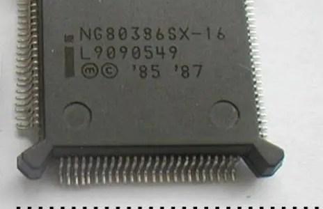 286 vs 386SX