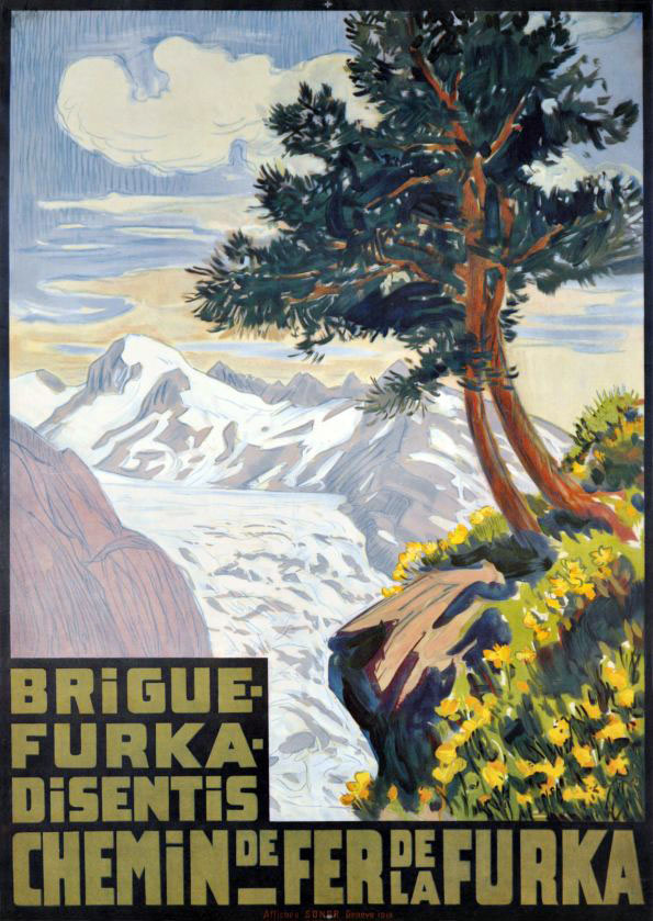 BFD / Brigue - Furka - Disentis (1914)
