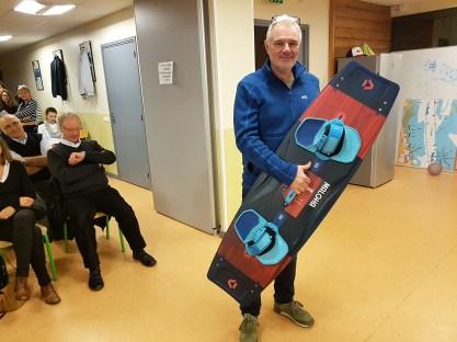 Bertrand CARIOU gagne la planche DUOTONE