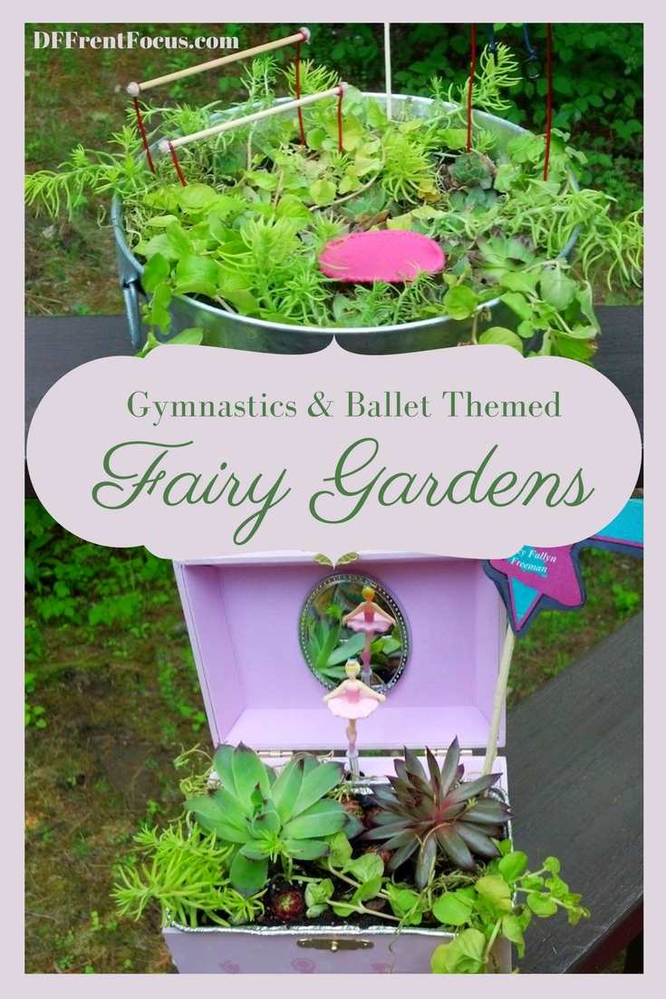 Gymnastics & Ballet Themed Fairy Garden Teacher Thank You Gifts