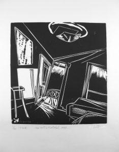 """""""Une nuit à Montréal, 1985"""". 02-2018."""