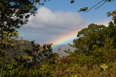 photo of Rainbow seen from the Hooke's yard