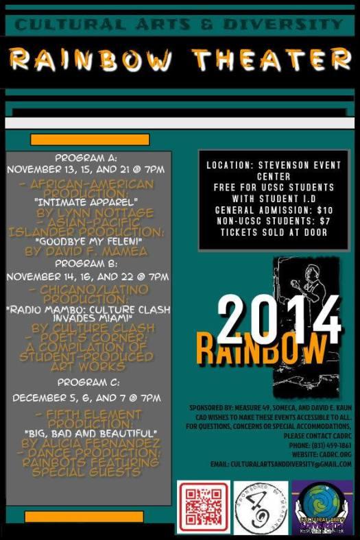 141113 Rainbow Theatre