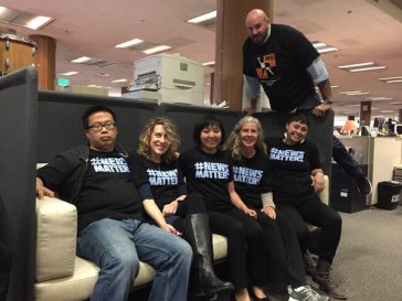 SF Chronicle business reporters show support for DFM workers