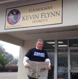 Denver City Councilman Kevin Flynn, former City Hall reporter for the Rocky Mountain News.