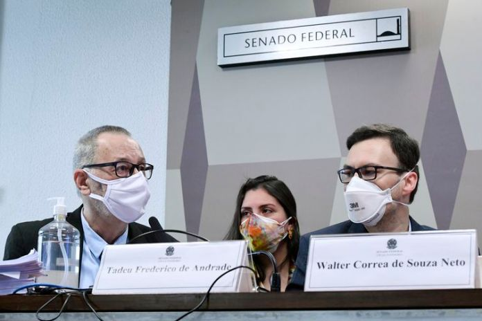 Comissão Parlamentar de Inquérito da Pandemia (CPIPANDEMIA) realiza oitiva de beneficiário e de ex-médico da Prevent Senior. A operadora de saúde é acusada de ocultar mortes de pacientes por Covid-19 e de pressionar médicos a prescreverem