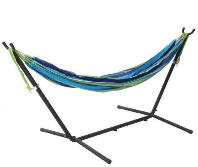 Small Free Standing 8 Ft Adjustable Metal Hammock Stand Discontinued