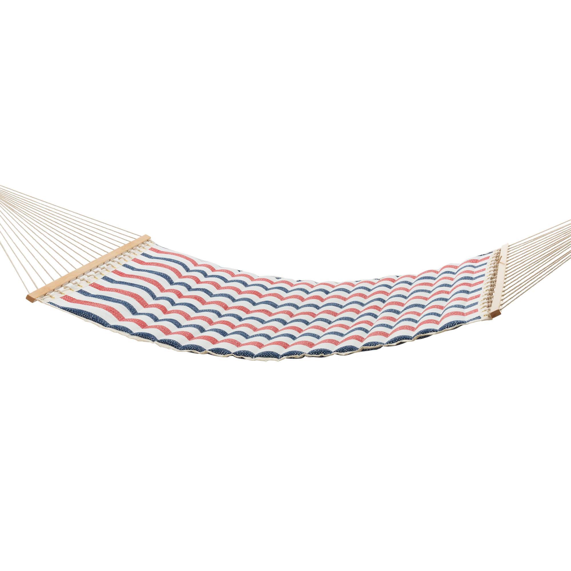hammocks twill stripe pillowtop hammock