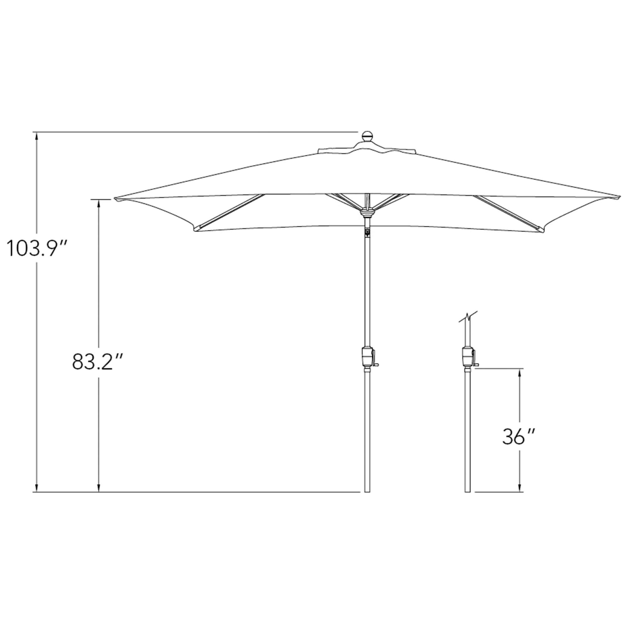 10 Ft Patio Umbrella