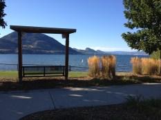 overlooking Okanagan lake