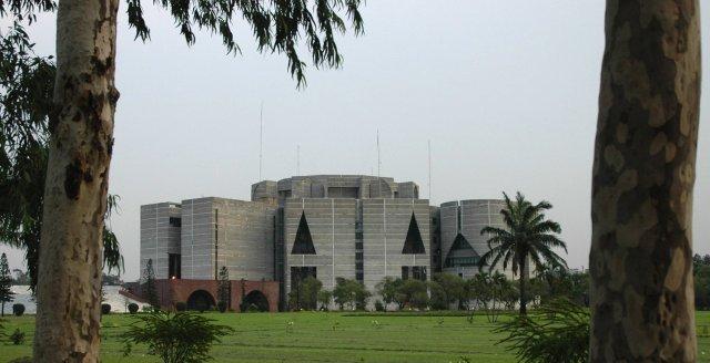 Assembléia Nacional, em Dacca, Bangladesh
