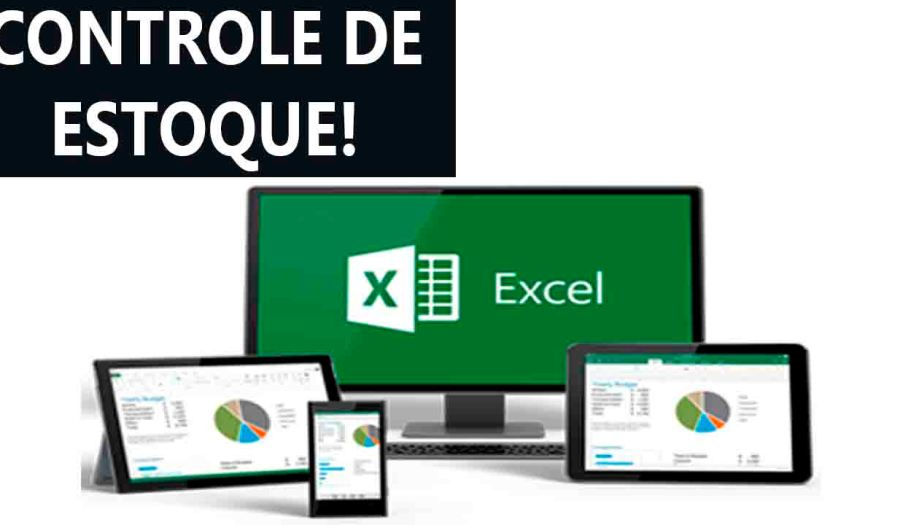 Planilhas Excel controle de estoque