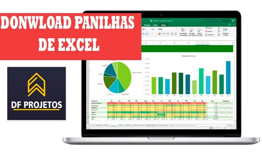 Download de planilhas de Excel