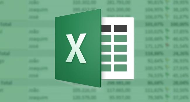 Download de planilhas do Excel