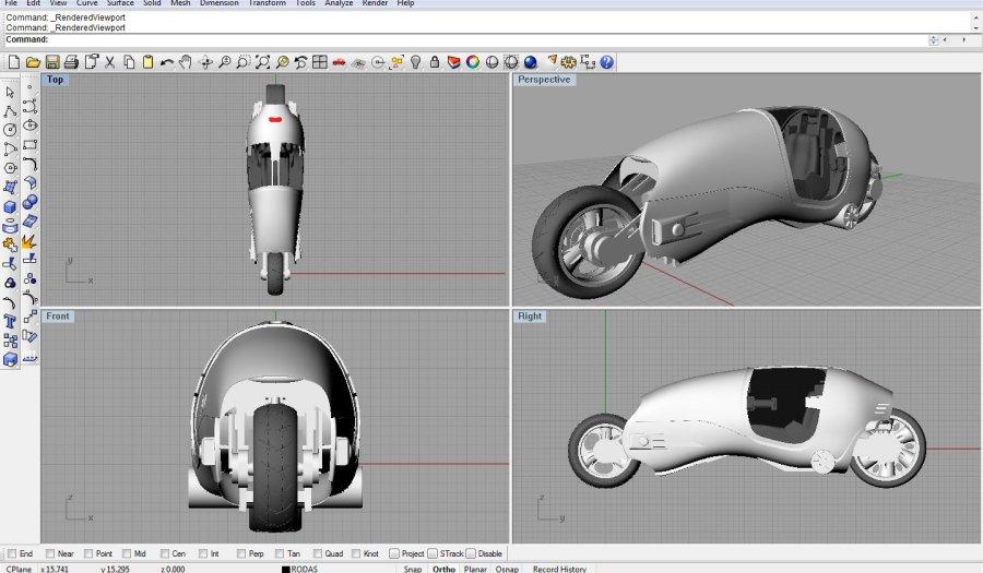 Rhinoceros programa para designer de produto