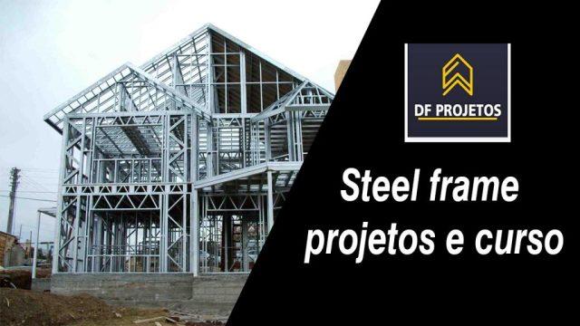 Steel frame projetos e curso
