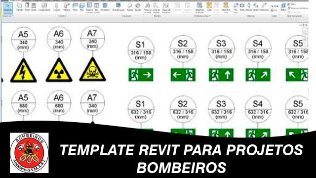 Revit - Template projetos para bombeiros NBR 9077