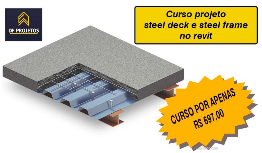 Steel deck curso de projeto no revit