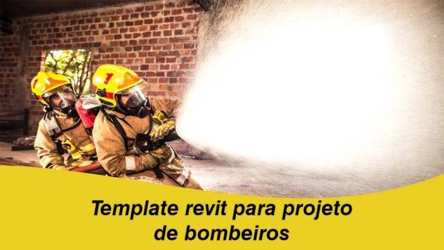 Template revit para projeto de bombeiros
