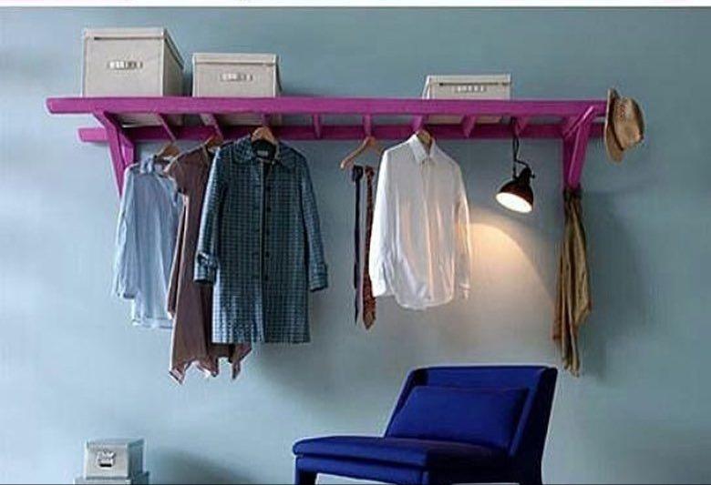 escada de roupas