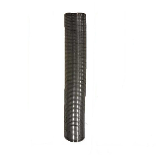 8 inch id x 36 inch length exhaust flex pipe stainless steel