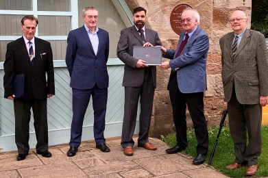 Three PC Laptops donated by Rimini to Disabilities Fife
