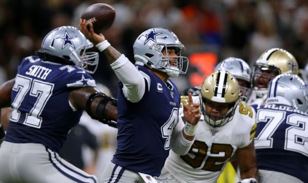 Cowboys Offense Flat In Loss To Saints 12-10