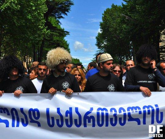 Georgian Orthodox Church against LGBT 2013-05-17