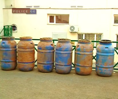 weapons cache - barrels