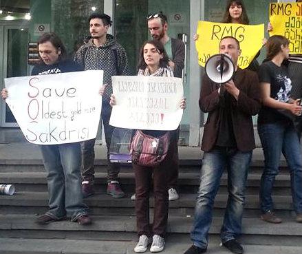 sakdrisi_demonstration_2014-04-19