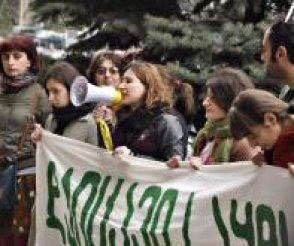 sakdrisi_demonstration_March_2014_Cropped