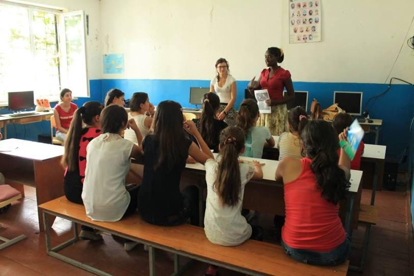 Teaching in Tserakvi