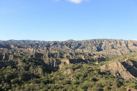 Vashlovani national park.