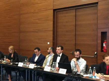 Meeting of civil society organizations to discuss Constitutional Court Bill. June 3. Tbilisi (Facebook)