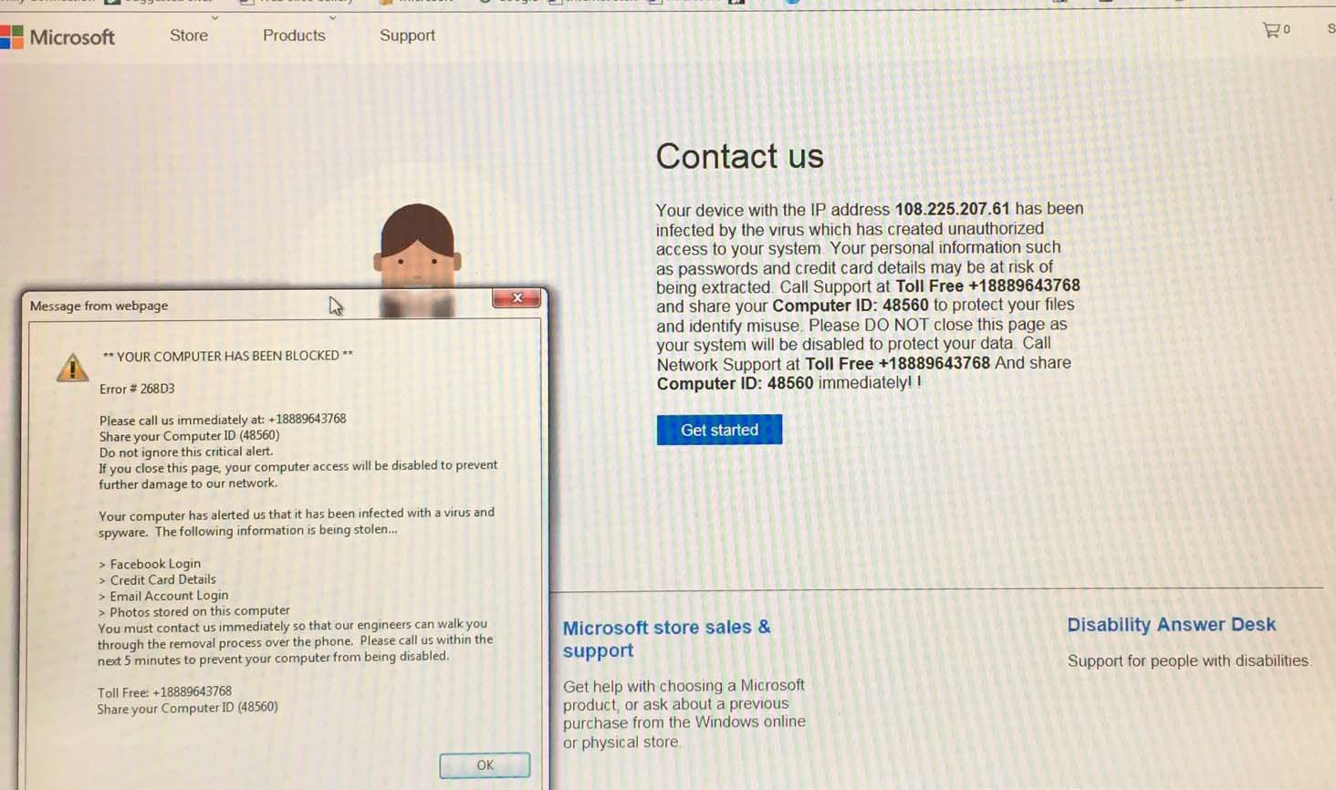 Microsoft Scam