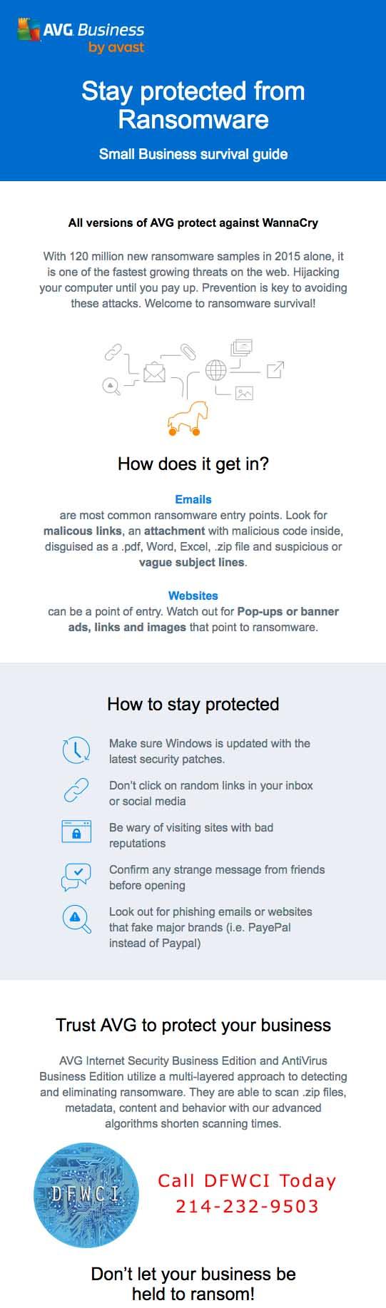 AVG Protects You Against WannaCry