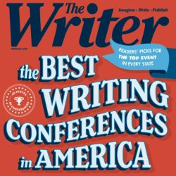 The Writer magazine cover