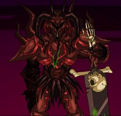 Resultado de imagem para sepulchure injured dragonfable
