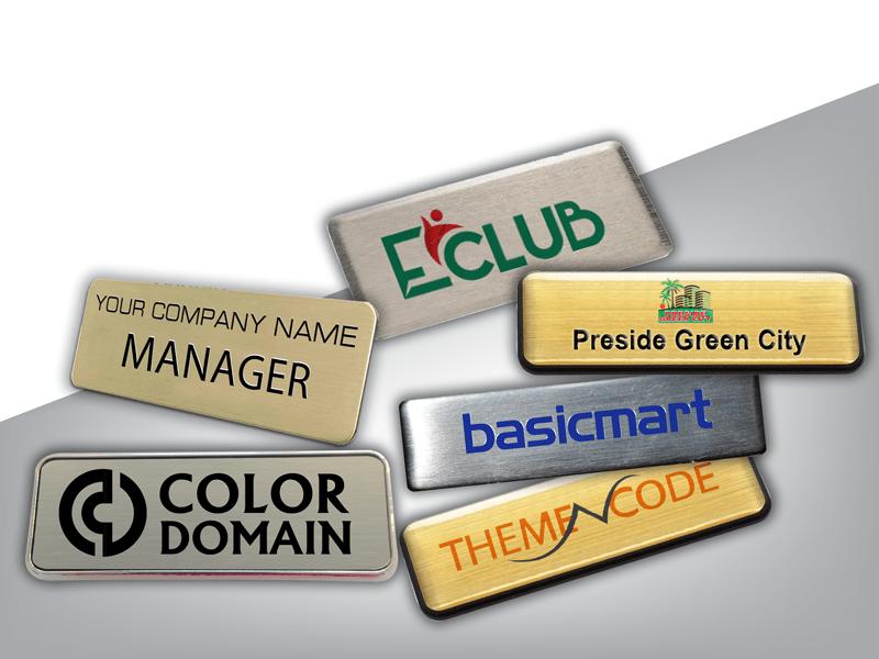 Name Tag design & printing service company | Print Shop in