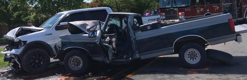 Medical helicopters respond to head-on collision Sunday