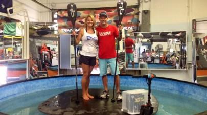 Jim Terrell Quickblade and Konae Nowell DFW Surf