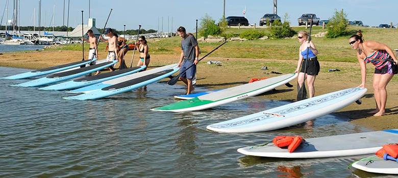 Paddle Level 1 Beginner Classes at DFW Surf